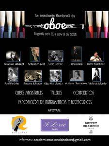 Academia Nacional de Oboe Bogota 201611